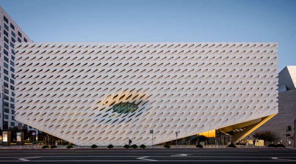 The Broad, à Los Angeles